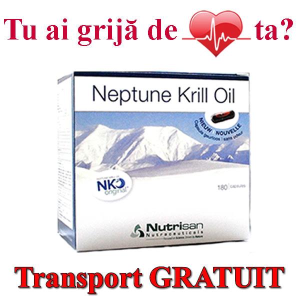NEPTUNE-KRILL-OIL-LICAPS-omega-369 pentru reducerea nivelului mare de colesterol rau