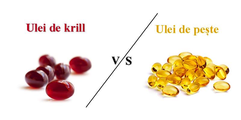 ce sa ageleti ulei de peste sau ulei de krill